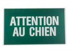 PANNEAU 330X200 ATTENTION AU CHIEN