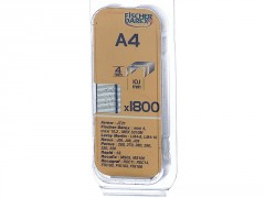 AGRAFE A4MM BLISTER 1800