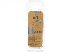 AGRAFE A8MM BLISTER 1800