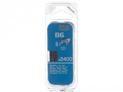 AGRAFE B6MM BLISTER 2400