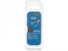 AGRAFE B8MM BLISTER 1800