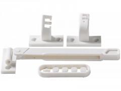 ENTREBAILLEUR ADHESIF PVC BLANC
