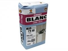 CIMENT BLANC SAC DE 25 KG
