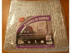 PLAQUE D'ISOLATION DE PORTE DE GARAGE 50X50 CM PAQUET DE 20