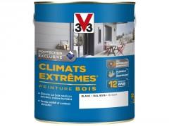 PEINTURE BOIS CLIMATS EXTEMES BLANC BRILLANT 2.5L