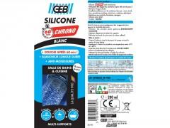 SILICONE 60MN CHRONO BLANC 280ML