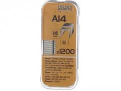 AGRAFE A14MM BLISTER 1200