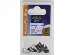 PINCE-CLIPS 3/6MM SOUS BLISTER DE 6