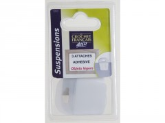 ATTACHE ADHESIVE SOUS BLISTER