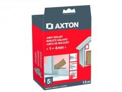 JOINT DE PORTES ET FENETRES AXTON 1/4MM PVC BRUN 15M