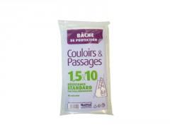 BACHE COULOIR 1,5X10M EP 40MIC