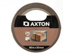 ADHESIF EMBALLAGE 66MX50MM MARRON AXTON