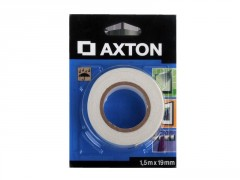 ADHESIF DOUBLE FACE MIROIR 1.5MX19MM AXTON