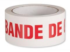 ADHESIF EMBALLAGE BANDE DE GARANTIE 66MX48MM
