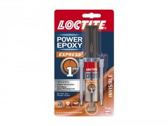 COLLE EPOXY EXPRESS 1 MIN INVISIBLE SERINGUE 11ML LOCTITE