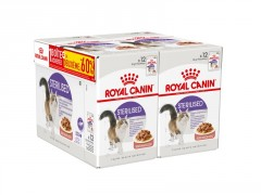 ROYAL CANIN ALIMENTATION CHAT STER SAUCE 12+12-60%