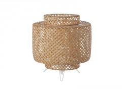 LAMPE DORAMU DIAMETRE 20 BAMBOU