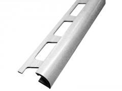 PROFIL PVC 1/4 DE ROND OUVERT BLANC 12,5MM LONGUEUR 2,50M