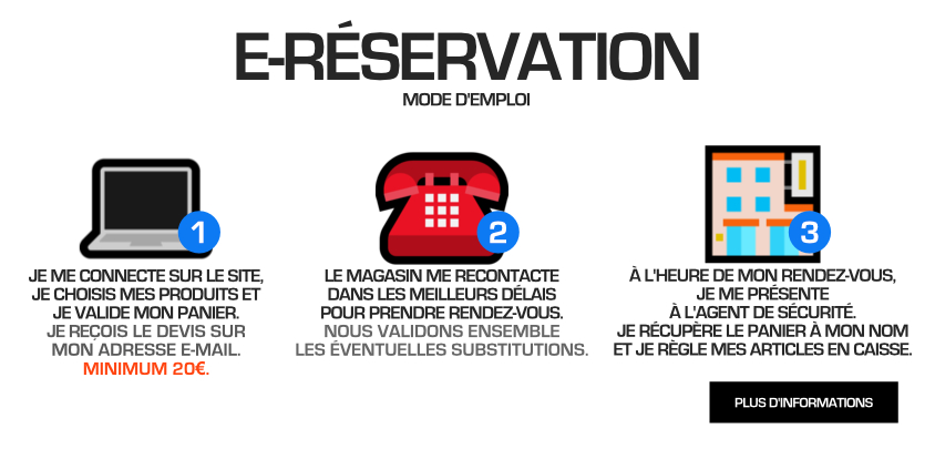 E-RESERVATIONS
